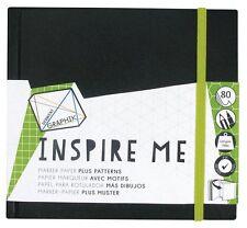 Derwent Inspire Me Hardback Sketchbook - Dots Triangles Squares Hexagons