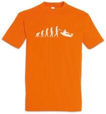 Kayaking Evolution T-Shirt Kayak Human Fun Charles Darwin Sports Ship Boat Coach