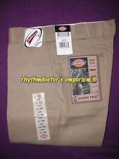Dickies Mens 874 KH Traditional Original Fit Straight Leg Work Pant Khaki New
