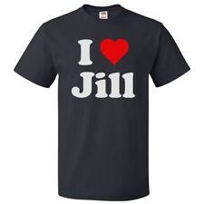 I Love Jill T shirt I Heart Jill Tee