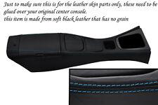 Punto azul se adapta a Mazda Mx5 Mk2 Miata 01-05 Centro Consola Y Apoyabrazos Lthr cubre