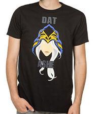League of Legends Dat Ashe Black Men's T-Shirt Anime Licensed NEW