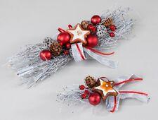 Weihnachten, Tischdeko, 32 cm oder 16 cm, Kugeln und Keks