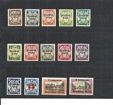 Deutsches Reich 1936, (fast) kompl. Sätze/Einzelmarken aus MiNrn: 482-885 * Falz