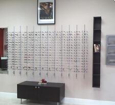 10PCS New Aluminium Lockable Sunglasses Glasses Eyeglasses Display Rod