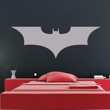 Batman Dark Knight Supereroe Logo Adesivo Artistico Da Parete (AS10195)