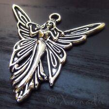 Fairy Angel Wholesale Silver Plated Necklace Pendant Charms C1609 -5PCs or 10PCs