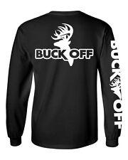 Buck Off Brand Long Sleeve Logo t shirt bow hunting apparel deer hunter apparel