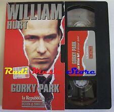 film VHS GORKY PARK W. Hurt L. Marvin  CARTONATA LA REPUBBLICA 1984 (F166)no*dvd