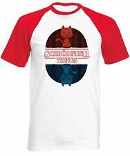 Reality Glitch Men's Schrodinger Things Baseball Shirt Short Sleeve