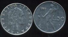 ITALIE   ITALY  50 lire 1989