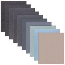 50 Blatt Schleifpapier wasserfest 210 mm x 280 mm Nassschleifpapier Sand Papier