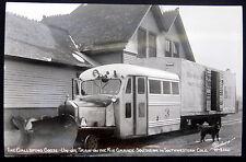 Denver & Rio Grande Western Railroad ~1940's THE GALLOPING GOOSE~SANBORN  RPPC