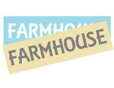 Stencil Sign Stencil FARMHOUSE Country Farm DIY Primitive Rural U Choose Size