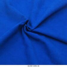 Lammvelour 1,0 mm d'épaisseur Cuir Véritable Peau Velours Bleu Fourrure H123