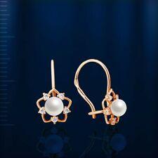 Gold Ohrringe 585 Gold Ohrringe Rotgold Ohrringe 585 Gold Ohrschmuck 14K Gold