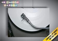 Poster Platine Vinyl Dj Studio Deco Wall Art 02