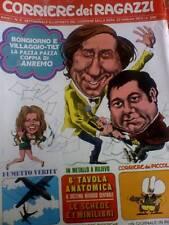Il Corriere dei Ragazzi 9 1972 De Dorigo di S.TOPPI