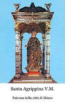 ADESIVO STICKER SANTINO HOLY CARD SAN MERCURIO MARTIRE
