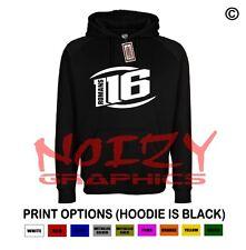 Romans 116 #6 Christian Hoodie Black Sweatshirt Unashamed Religious Jesus Clique