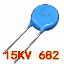 500PF 15KV.DC 40KVA High voltage Ceramic Capacitor #E02a