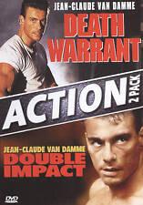 Death Warrant/Double Impact (DVD, 2010)
