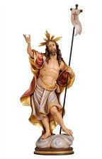 Jesus resurrection statue wood carving