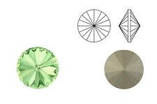Swarovski Crystals® Rivoli (1122) chrysolite, SS39 - 8 mm | Menge wählbar (6, 10