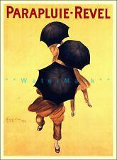 Parapluie Revel 1922 Vintage Poster Print Retro Style French Art Wall Decor