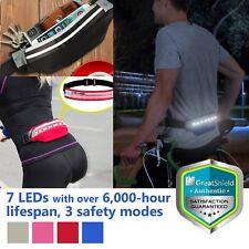 Outdoor Running Jogging Cycling Biking Night LED Light Safety Belt Waterproof