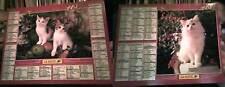 calendrier année 2001 - almanach -  bon etat complet cote d'or -