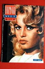 BRIGITTE BARDOT ON COVER 61 VERY RARE EXYU MAGAZINE