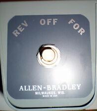 ALLEN BRADLEY 350-BAV REVERSING DRUM SWITCH 350 BAV SIZE 1 SER. B NEW  NOS  NIB