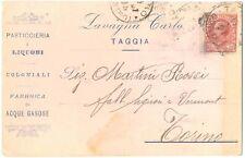TAGGIA - PASTICCERIA E LIQUORI LAVAGNA (IMPERIA) 1907