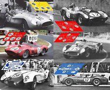 Calcas Ferrari 250 TR Le Mans 1959  1:32 1:43 1:24 1:18 slot decals