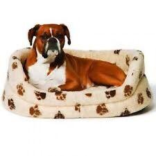 "Danish Design Sherpa Fleece Dog Puppy Bed/Mattress/Duvet/Cage/Crate 24 30 35 """