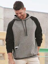 94d09ca8f70 Jerzees - Nublend Colorblocked Raglan Hooded Sweatshirt - 96CR