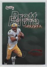 1998 Skybox Thunder Destination Endzone #7DE Brett Favre Green Bay Packers Card