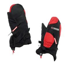 Moufles de ski hiver enfant RACER Pump rouge