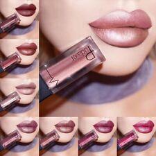 24 Colors Sexy Matte Metallic Lipgloss Lipstick Waterproof Longlasting Lip Gift