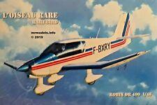 L'Oiseau Rare 1/48 Rarebird Robin Dr 400 New Plastic Model Kit
