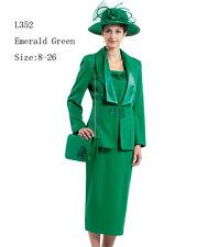 Sunday Women Church Suit - Soft Crepe Fabric - Standard to Plus Size - L352