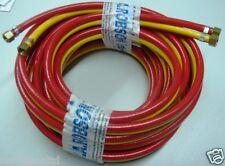 (ahtl) TwinLine rouge / jaune ligne à distance de projection de sablage fits clemco tuyau