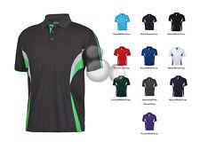 Mens Polo Shirt Size S M L XL 2XL 3XL 4XL 5XL Short Sleeve Contrast