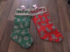 Meow Gatti dall'aspetto naturale Natale calza CAC 12