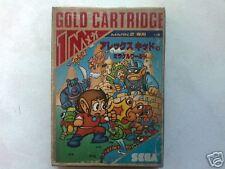 ULTRA-RARE!!!! SEGA MARK III GOLD CARTRIDGE (BRAND NEW)