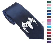 """Venom Spider Man Logo Men Woven Skinny 2.5"""" Party Tie Necktie K90"""