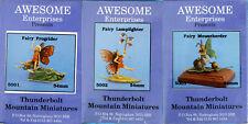 Thunderbolt Mountain Miniatures-Awesome Enterprises-54mm Fairies-5001-5002-5003