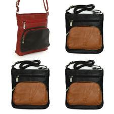 Schultertasche Damen Handtasche Leder Umhängetasche Farbauswahl OTZ900X