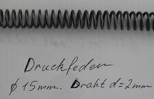 Druckfeder Ø 15,0 mm Draht d= 2,0 mm Neu